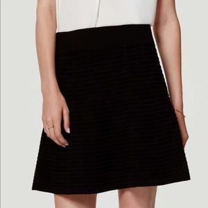 NWT Ann Taylor LOFT textured knit skirt